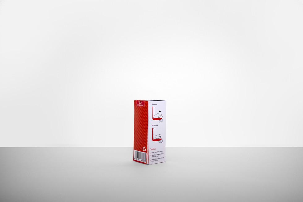 Artesano Foldable Stapler Package Design 2