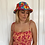 Thumbnail: Bright floral bucket hat