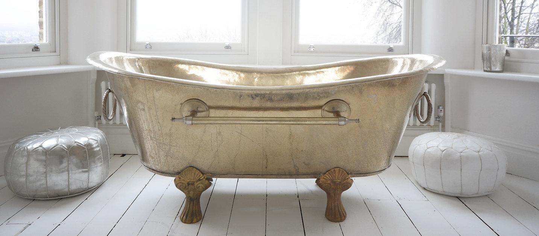Silver Bath Tub London