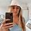 Thumbnail: White linen bucket hat