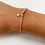 Thumbnail: Pink starfish tie bracelet