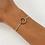 Thumbnail: halo bracelet