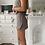 Thumbnail: Tweed print wrap skirt