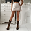 Thumbnail: Cream mini skirt