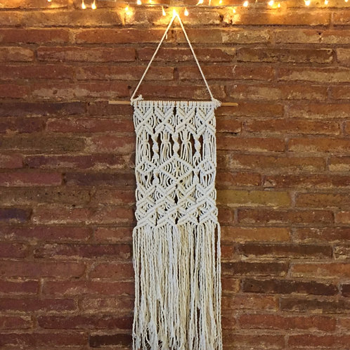 Off white wall hanging