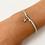 Thumbnail: Blue starfish tie bracelet