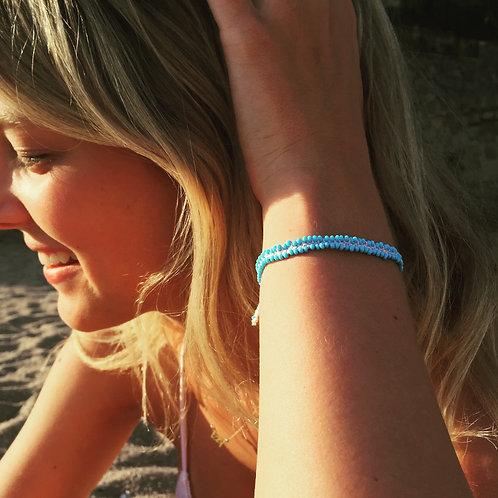 Beaded beach bracelet