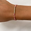 Thumbnail: Pink tie bracelet
