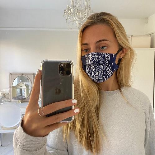Navy bandana facemask