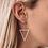 Thumbnail: Large Triangle Earrings