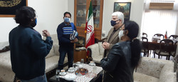 ASSSR Team's visit to Iran Cultural House, New Delhi