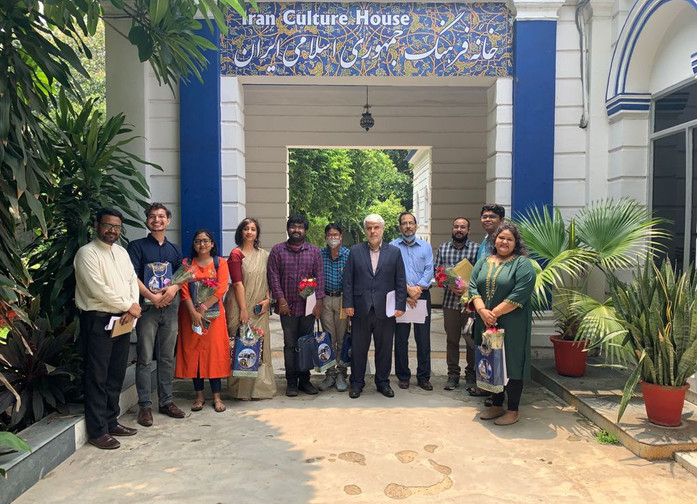 Members of Asiatic Society for Social Science Research, and Iran Culture House, Embassy of I.R. Iran, New Delhi