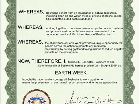 Earth Week 2019