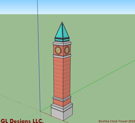 The New Boshka Clock Tower Design