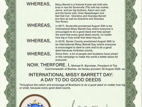 A Day to Do Good Deeds