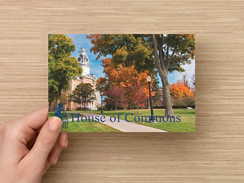 House of Commons Post Card