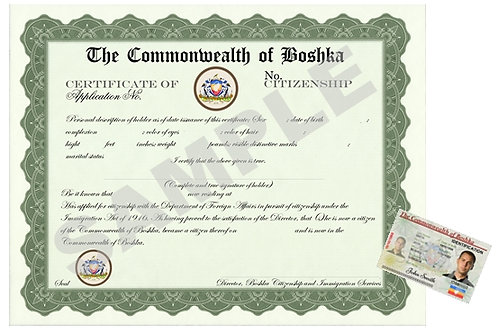 Basic Citizenship Package
