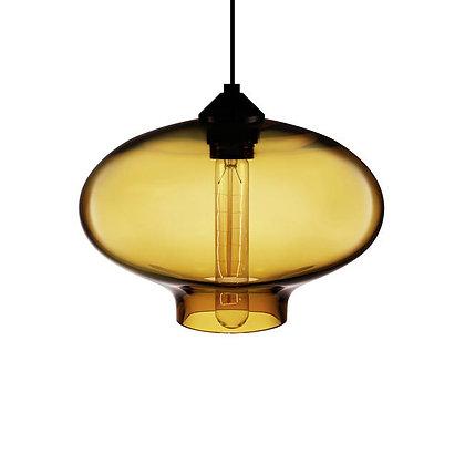 MD8003-280 Amber Glass Pendant