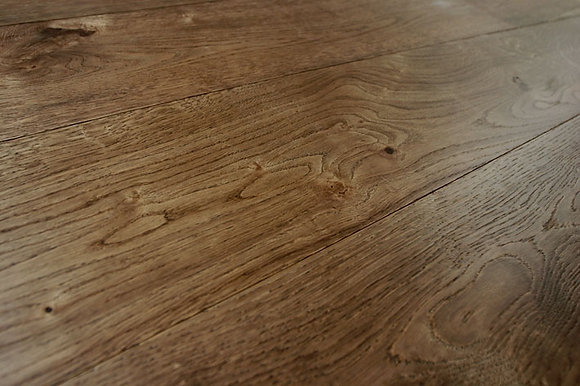 Deep Brown European Oak Engineered Flooring