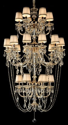 AL-8626/6+12+6 Upside Down French Style Chandelier