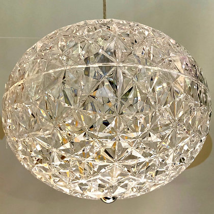 AL-MA05270C-001-01/CLR CLEAR SINGLE BALL PENDANT