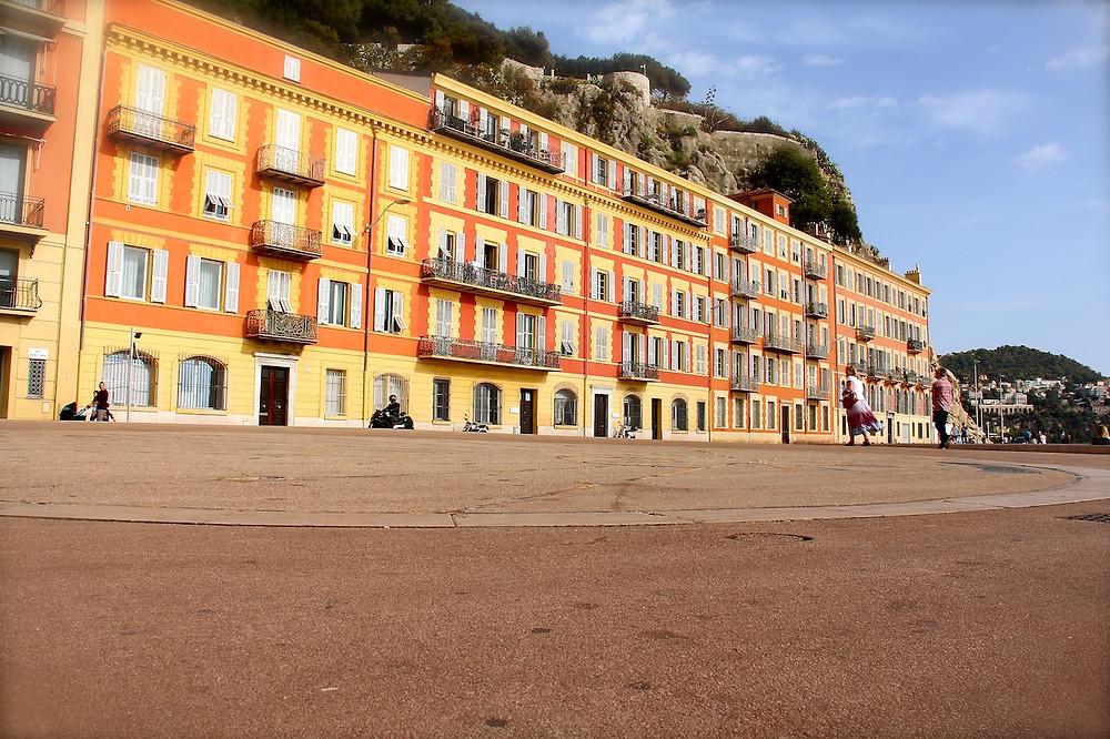 Cadran solaire à Nice