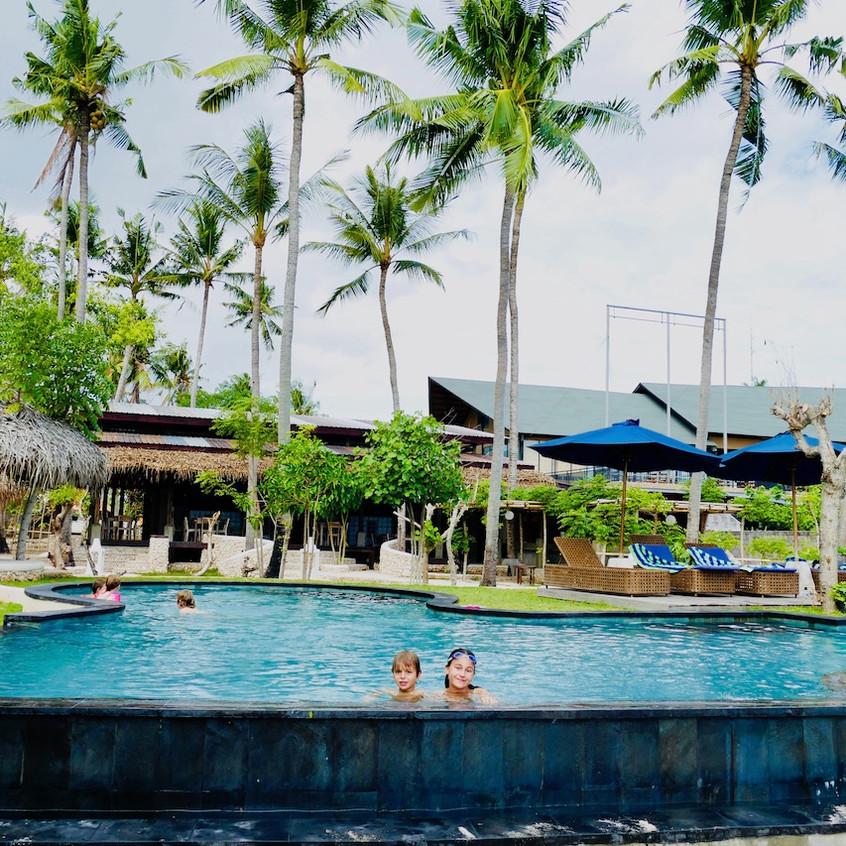 Le beach club de Nusa Lembongan