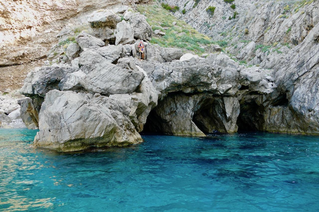 Les grottes de Capri