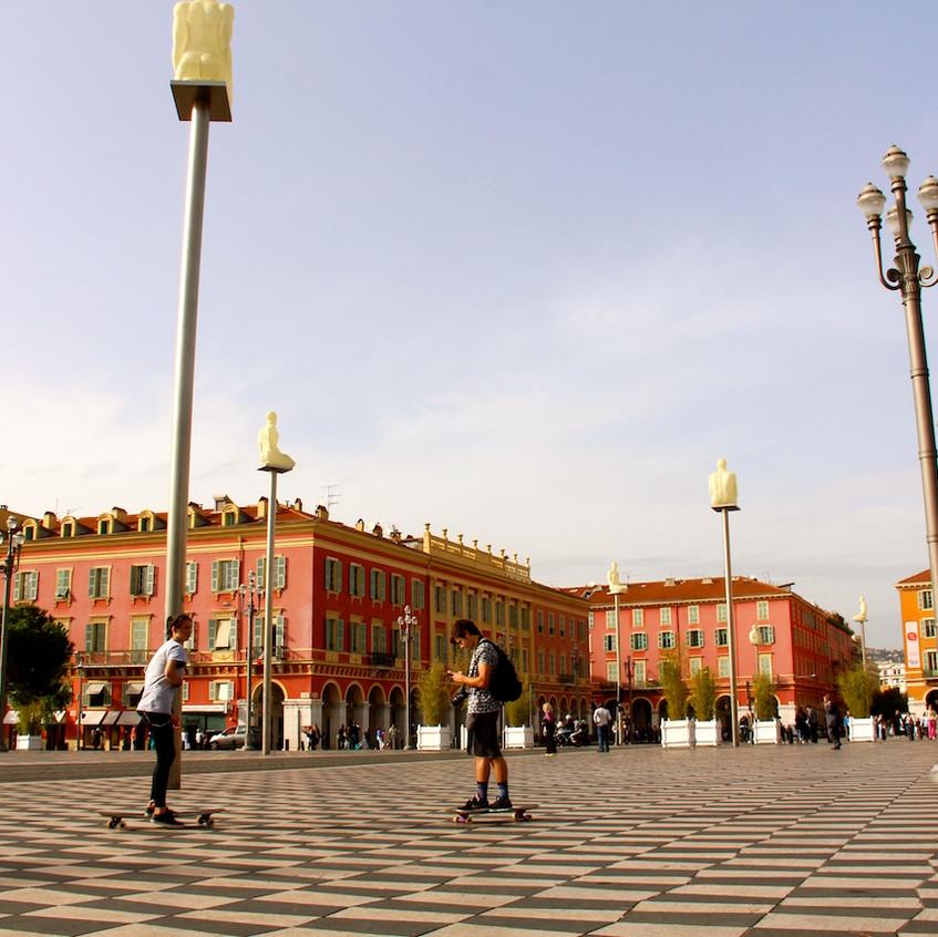 Place Masséna à Nice