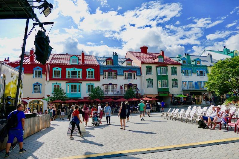 Place centrale de Mont-Trremblant