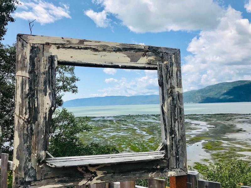 Paysage sur l'Isle aux Coudres