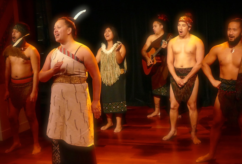 Spectacle des Maoris