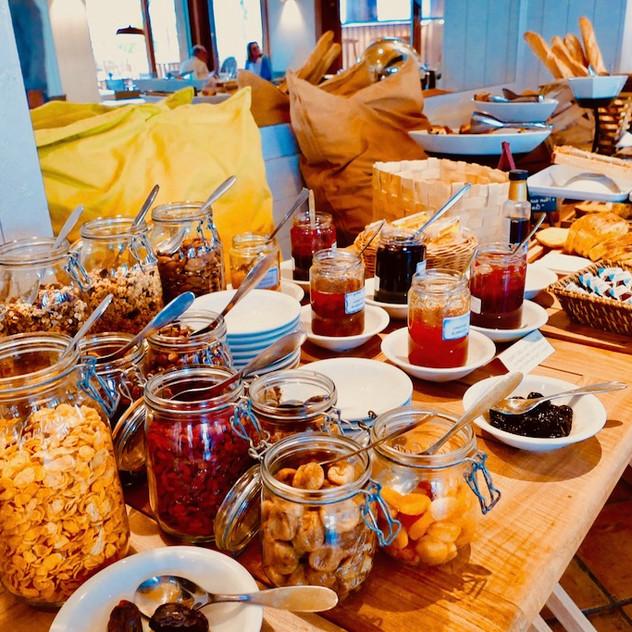 Petit-déjeuner au Bailli de Suffren
