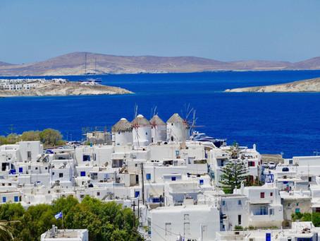 Mykonos, une île inspirante...