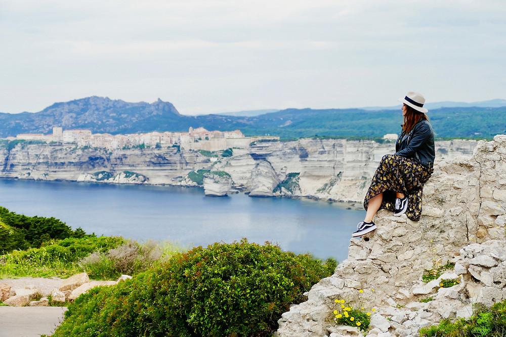 La cité de Bonifacio en Corse