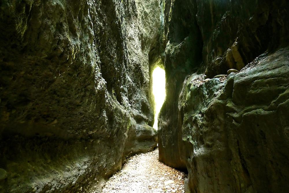 Sans la grotte