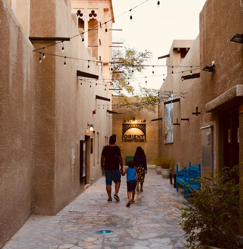 Quartier d'Al Fahidi à Dubaï