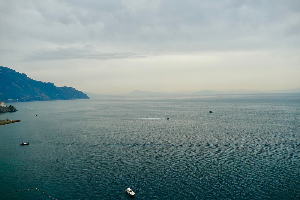 La baie d'Amalfi