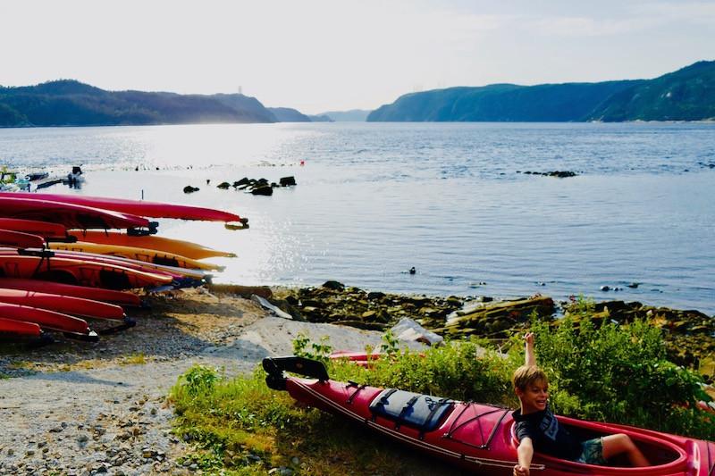 Kayak ferme 5 étoiles au Fjord du Saguenay