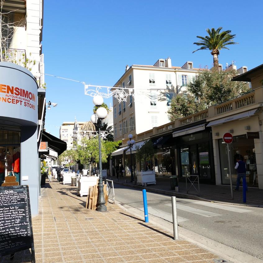 Shopping rue Lonchamp