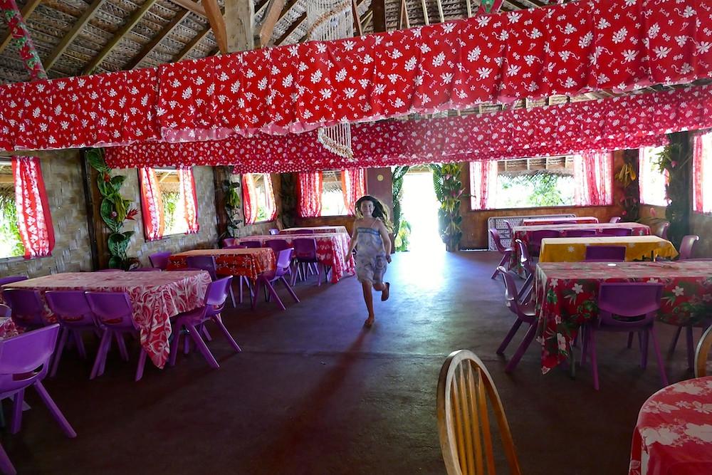 Chez tara à huahine