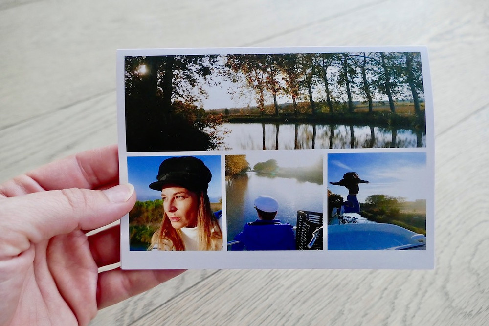 Cartes postales en ligne