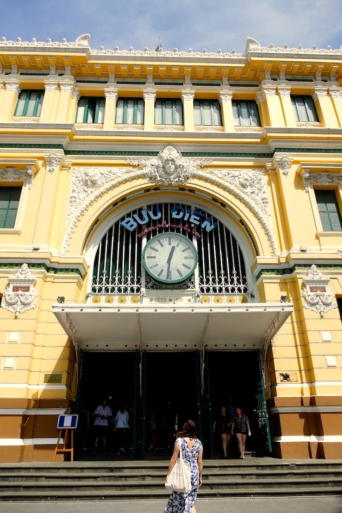 La poste centrale à Ho Chi Minh