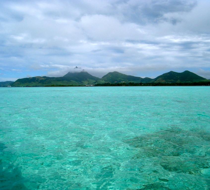 Au large de l'île Maurice