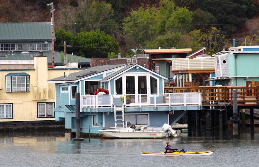 Bateaux maison à Sausalito