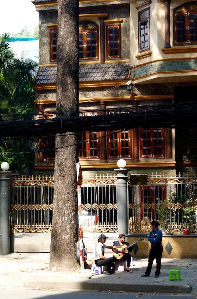 Les rues d'Ho chi Minh