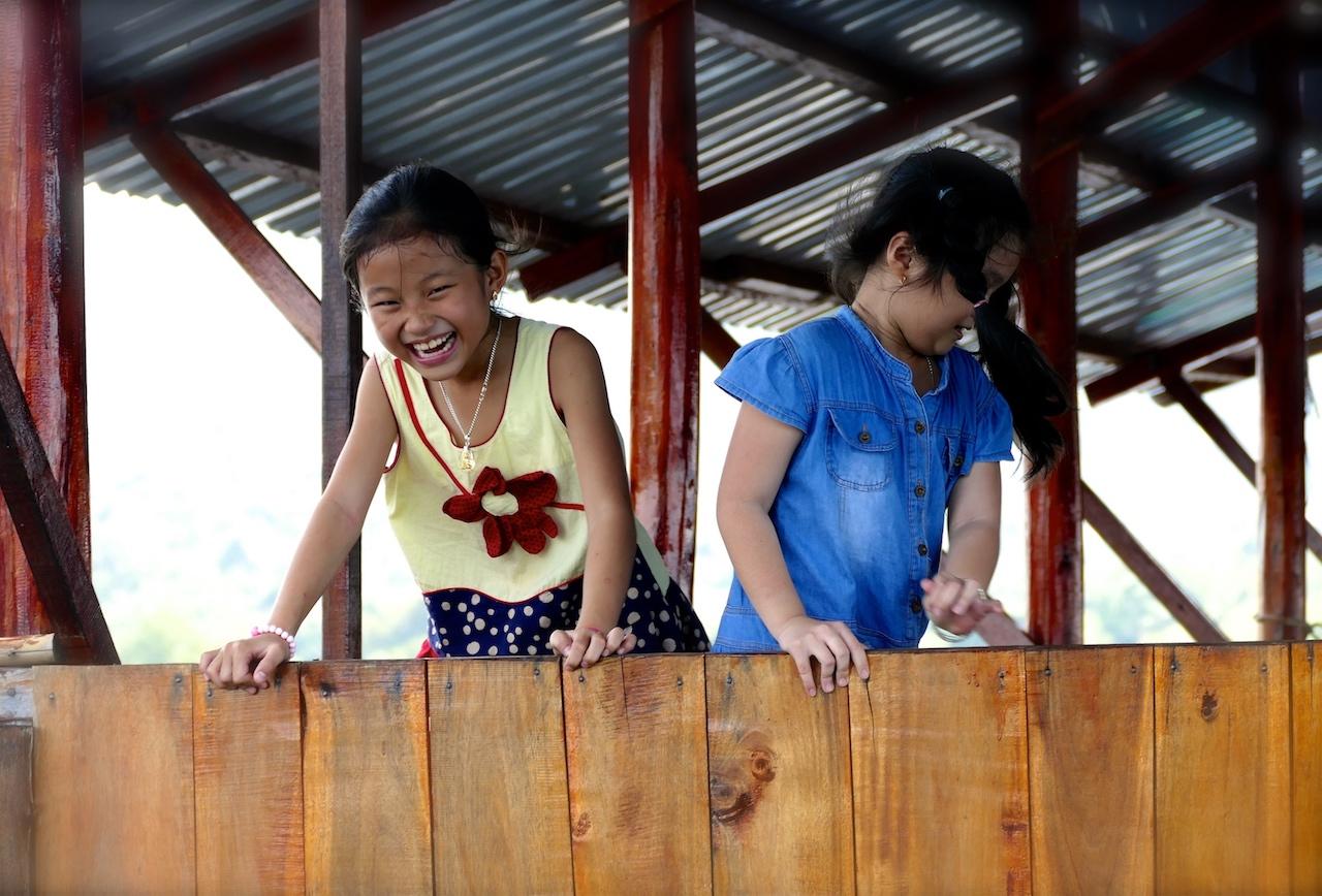 Enfant au village de Khanh Hao