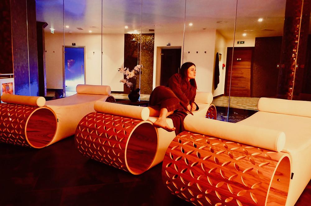 Salle de relaxation au SPA 27 à Nice