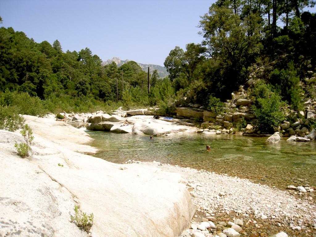 La rivière du Cavu