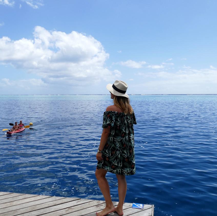 Vue depuis le ponton du Manava